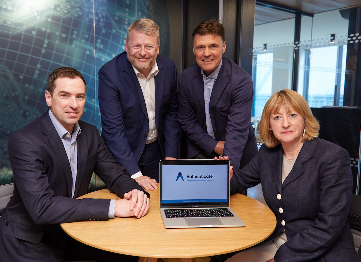 Authenticate Information Systems secures £2.3 million Series A funding led by Mercia