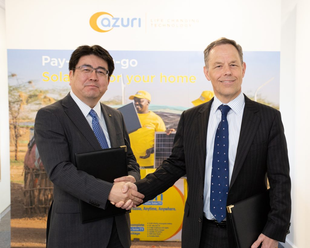 Azuri Technologies secures £20.51 million investment from Marubeni Corporation