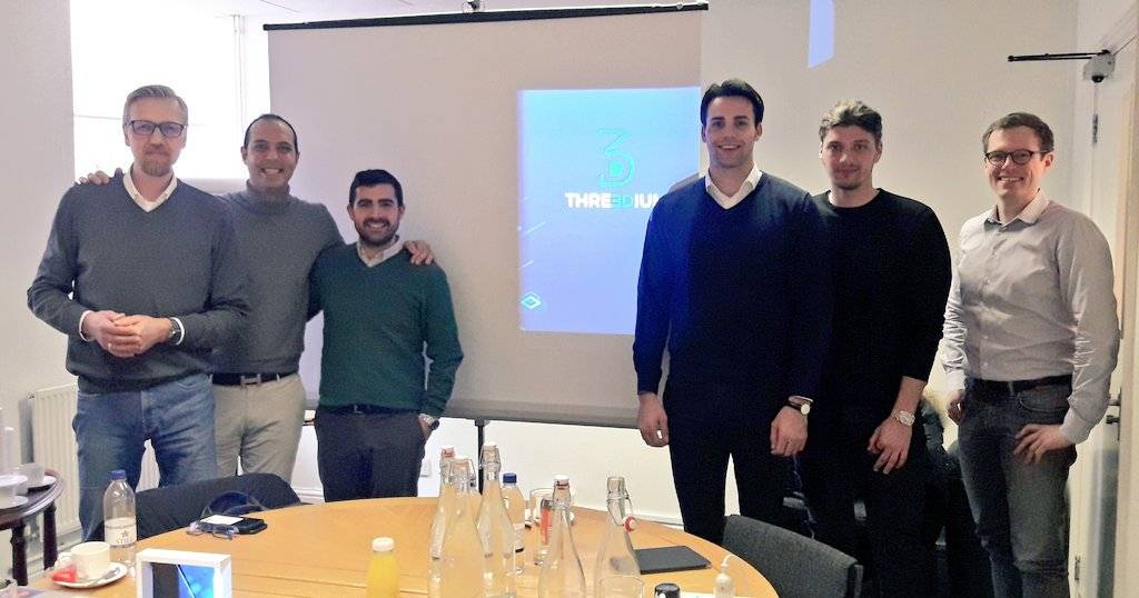 Threedium secures £860k Seed investment led by High-Tech Gründerfonds (HTGF) with Kinisis Investment (KI), Sandhutch Ltd and George Zarifis