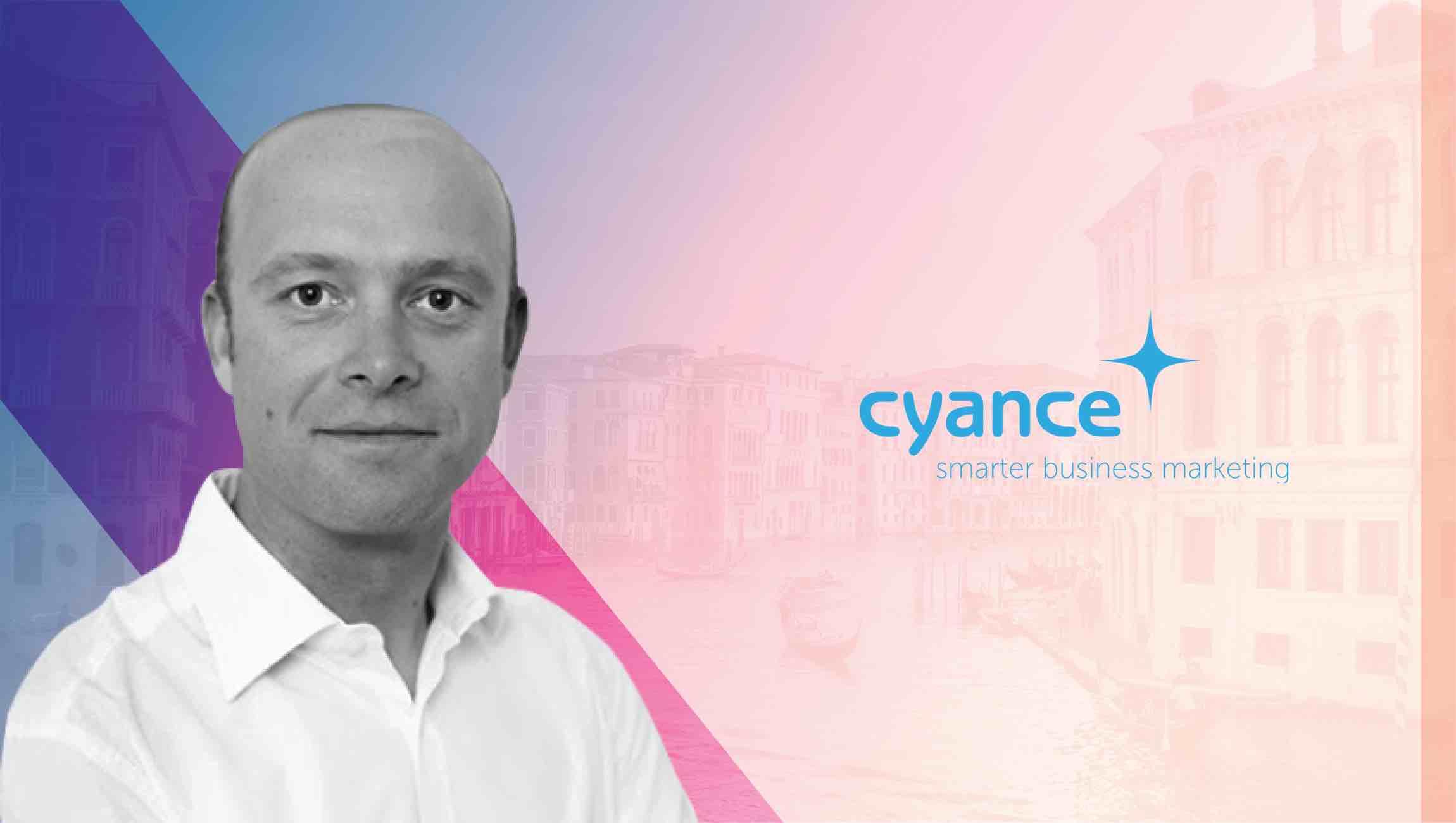 Jon Clarke cyance CEO