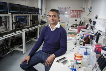 Business Life.Doctor Gordon Sanghera, CEO of Oxford Nanopore.