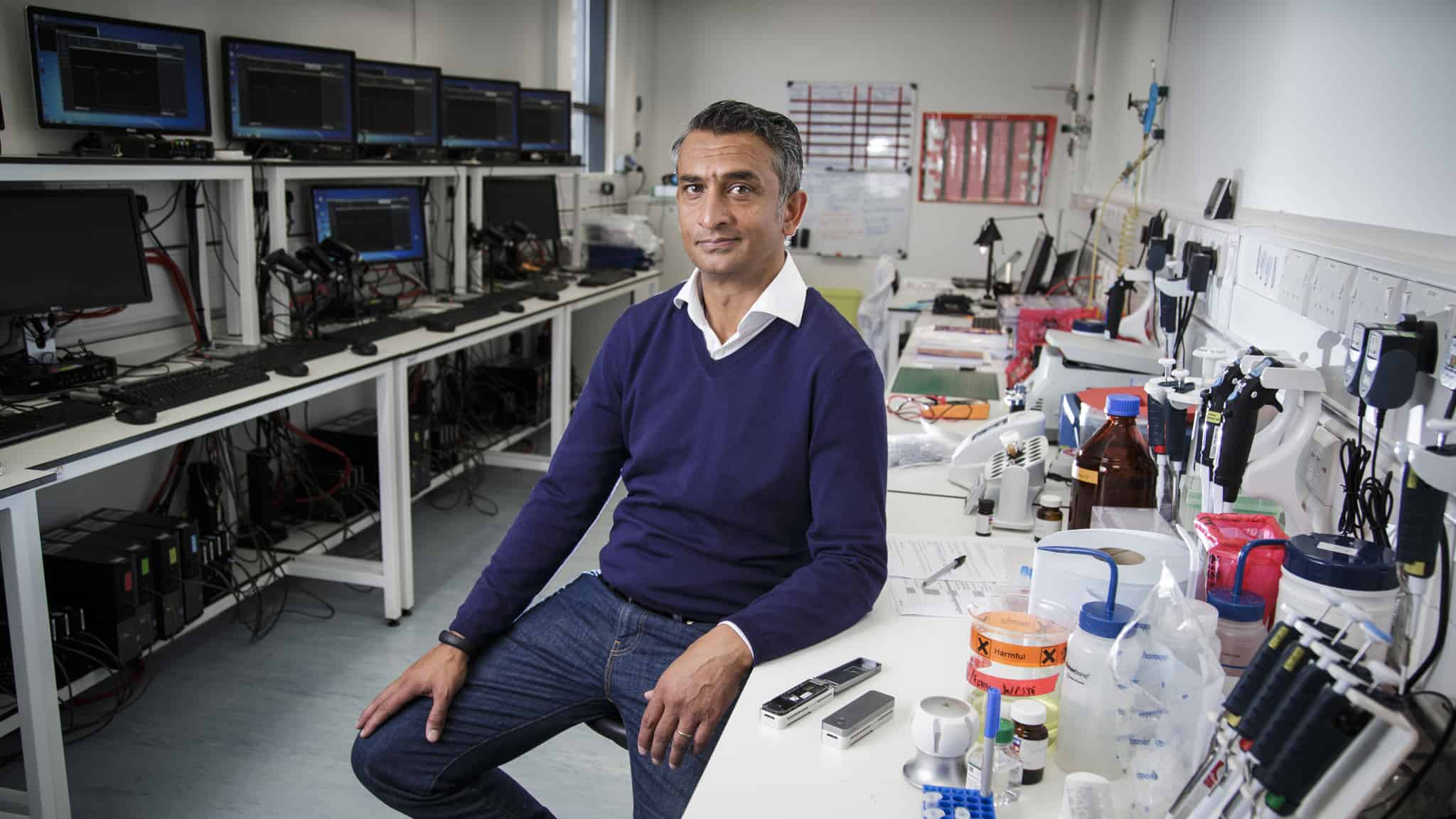 Oxford Nanopore Technologies secures £84.4 million Series H+ investment