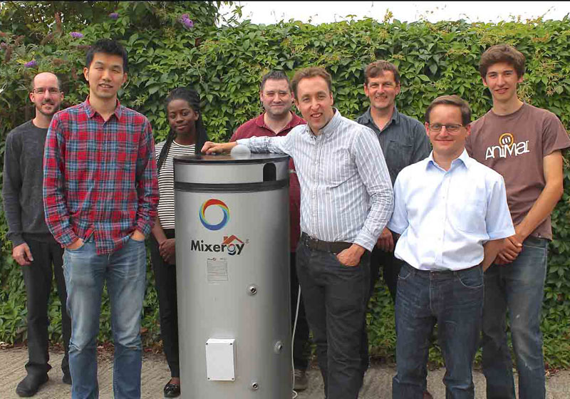 Mixergy secures £3.6 million Series A investment from Foresight Williams Technology (FWT), Oxford Sciences Innovation and IP Group