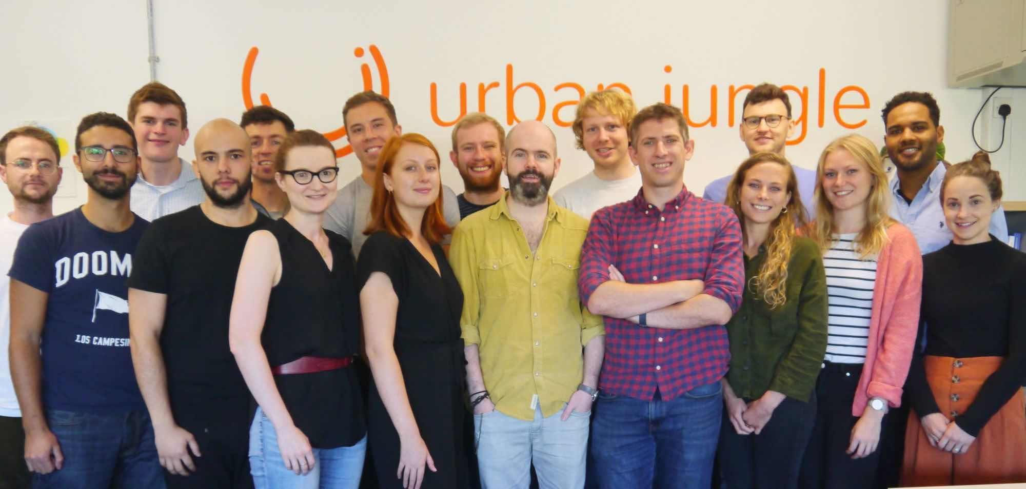 Urban Jungle secures £1.6 million Series A Follow On Investment