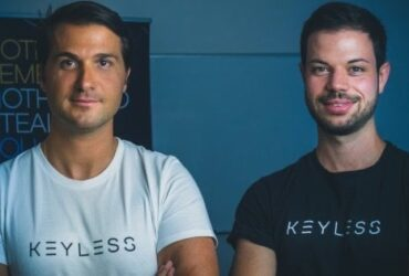 Andrea and Fabian Eberle Keyless co-founders