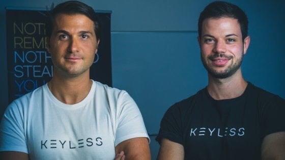 Andrea and Fabian Eberle Keyless co-founders