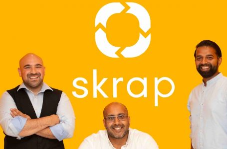 Skrap secures £1.2 million Seed Investment led by Vanneck Investments