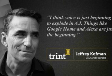 Jeff Kofman CEO Trint