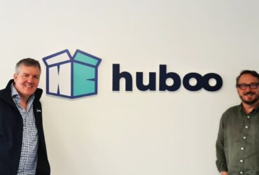 L-R Paul Dodd and Martin Bysh, co-Founders at Huboo