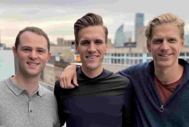 Stotles Co Founders Taj Kamranpour, John Witt, Carsten Schaltz