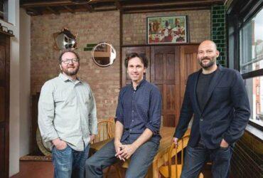 Simon O'Regan, (Centre) Markus Stripf; (Right) Tim Allen