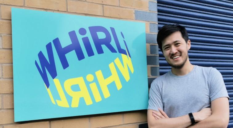 Nigel Phan Founder Whirli