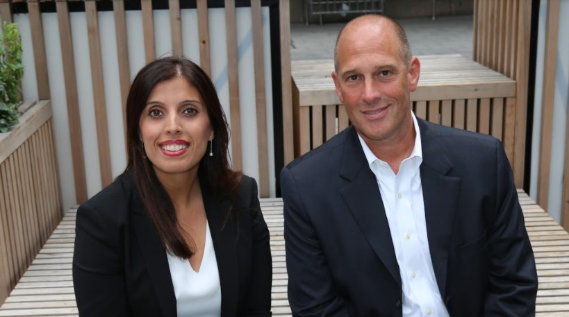 Peter Lancos and Sonal Rattan Co Founders eXate Technologies