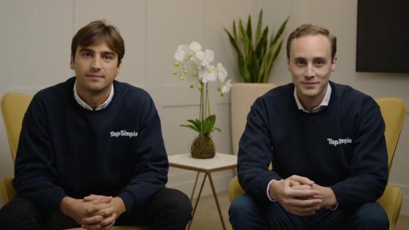 Alex Coleridge and Tom Montague CoFounders TapSimple
