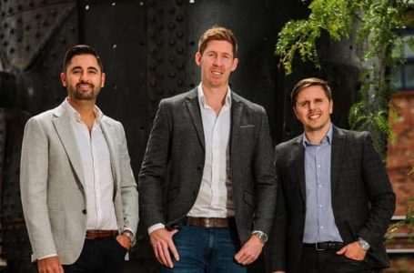 Bradley Cox, Phil Greaves and Luca Mori C-Founders UniHomes