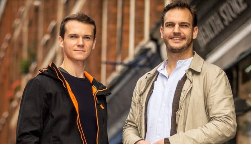 Nick Brackenbury and Max Kreijn Co-Founders NearSt