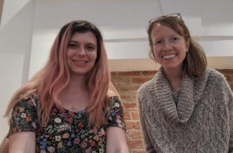 Julianne Sloane and Irina Dumitrescu Co-Founders Nossa Data