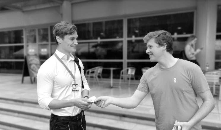 Tobias Whetton and Connor Co Founders Supernote