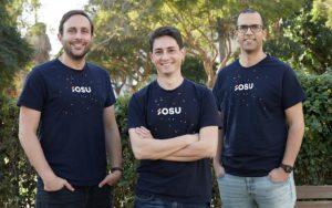Daniel Scott, Noam Nevo, Alon Zion Co-Founders Osu