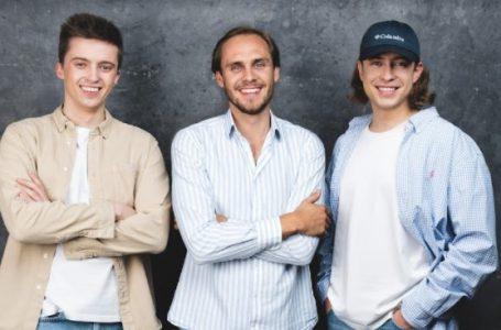 Pijus Bratcikov Benas Baltramiejunas and Kipras Gajauskas Co Founders Halp.rent