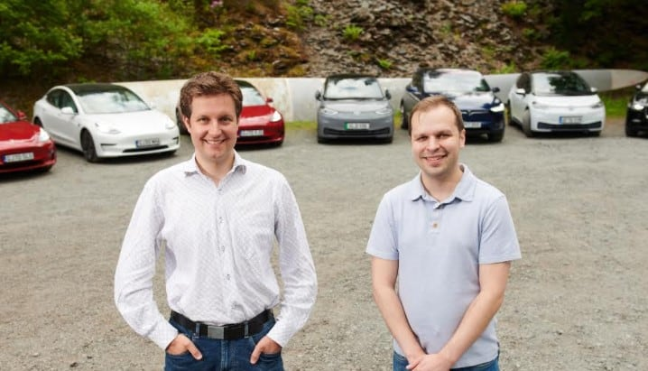 Nick Woolley and Chris Darby Co Founders EV dot Energy