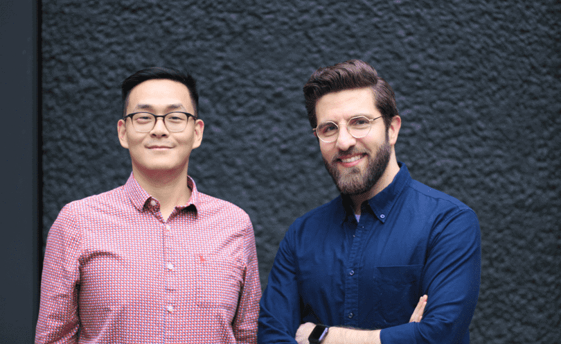 Dr Jing Ouyang and Dr Anas Nader co-founders Patchwork Health