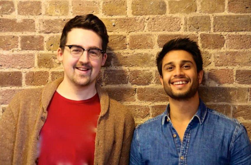 Tushar Agarwal and Tom Watson Co-founder HubbleHQ-min