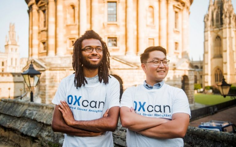 Dr. Peter Jianrui Liu and Andreas Halner Co Founders Oxford Cancer Analytics