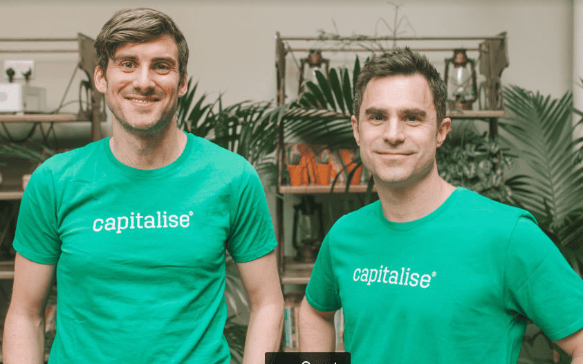 Capitalise.com Platform secures £10 million Series A investment from investors including Experian