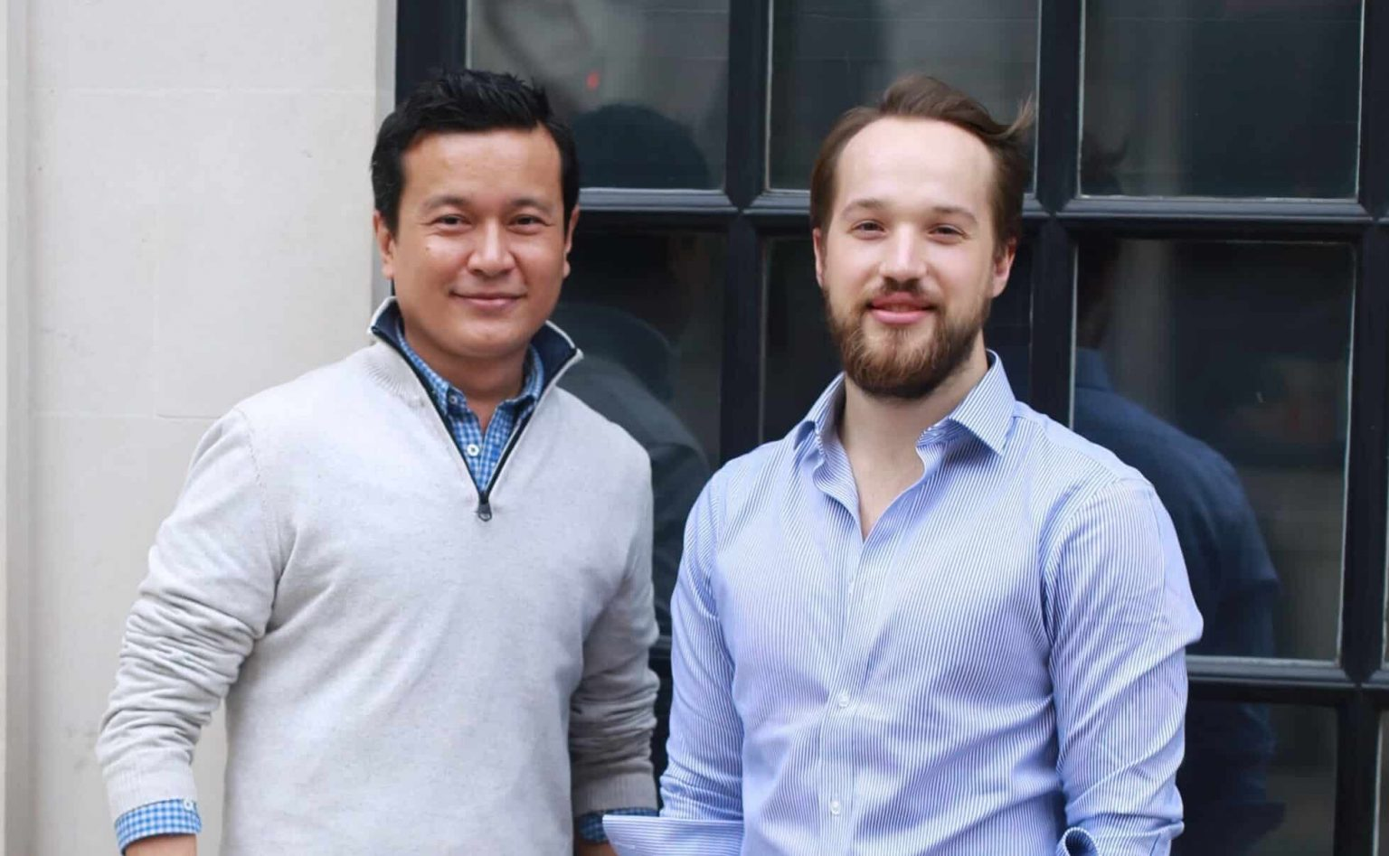 Tsewang and Frederick Co Founders of Embargo