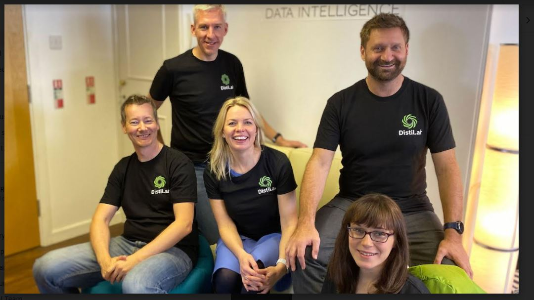 Big Business Intelligence (t/a Distil.ai) secures £400k Seed investment from Mercia